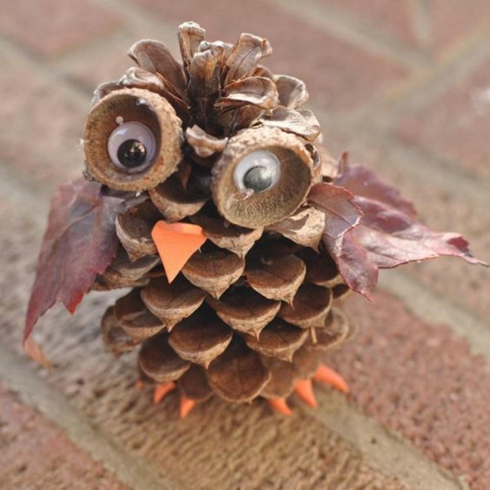 Fall Crafts Pine Cone
