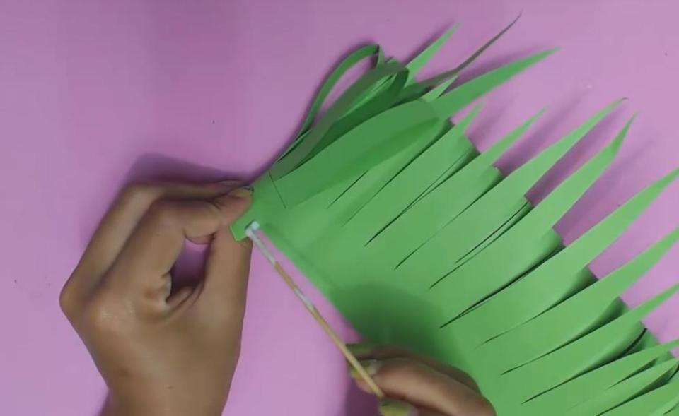 Paper Flowers for Kids Assembling Stem