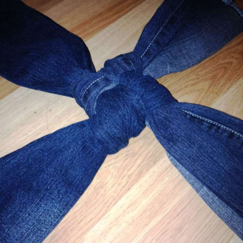 Crafts for Dogs Jeans Toy