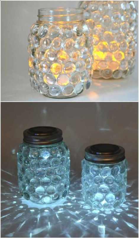 Crafts for Mason Jars Luminaries
