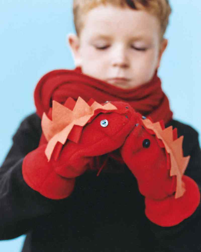 Crafts for Winter Monster Mitten