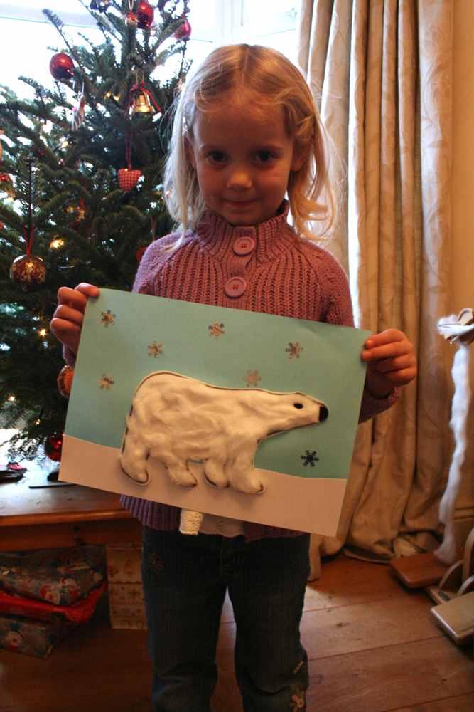 Crafts for Winter Polar Bear