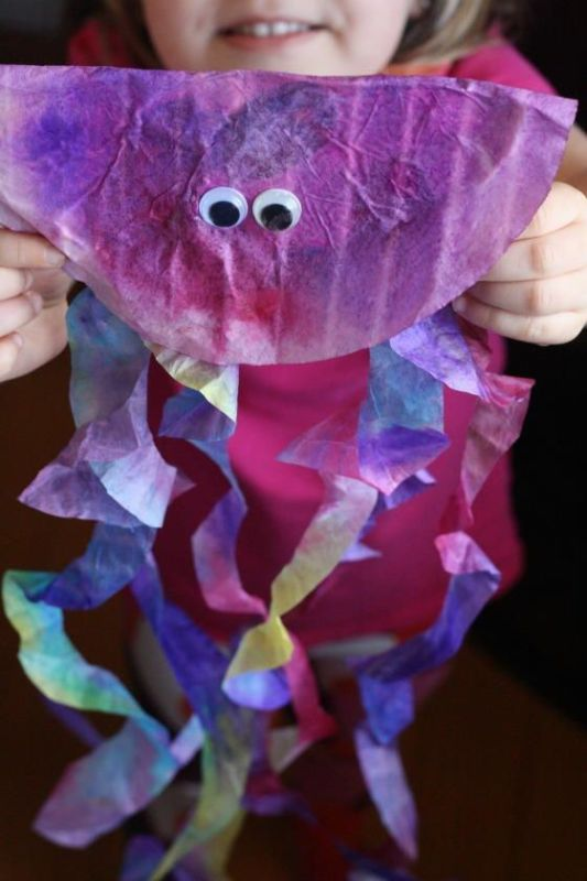 crafts to do with coffee filters