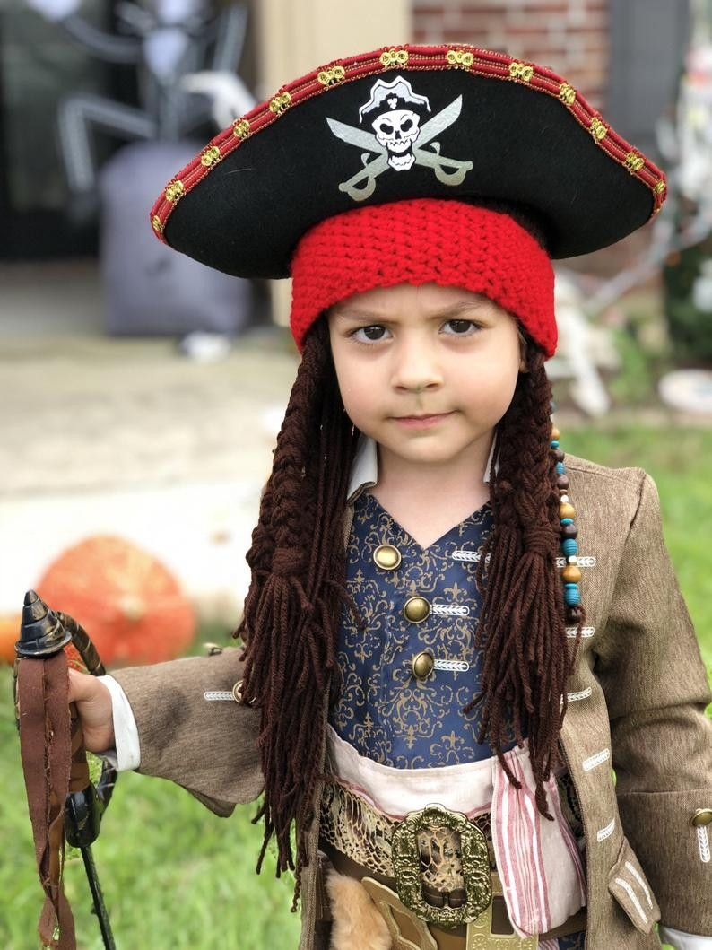 How to Make a Pirate Hat Instruction Worksheet / Worksheet - English / | 1059x794