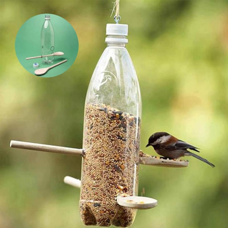 bird feeders craft