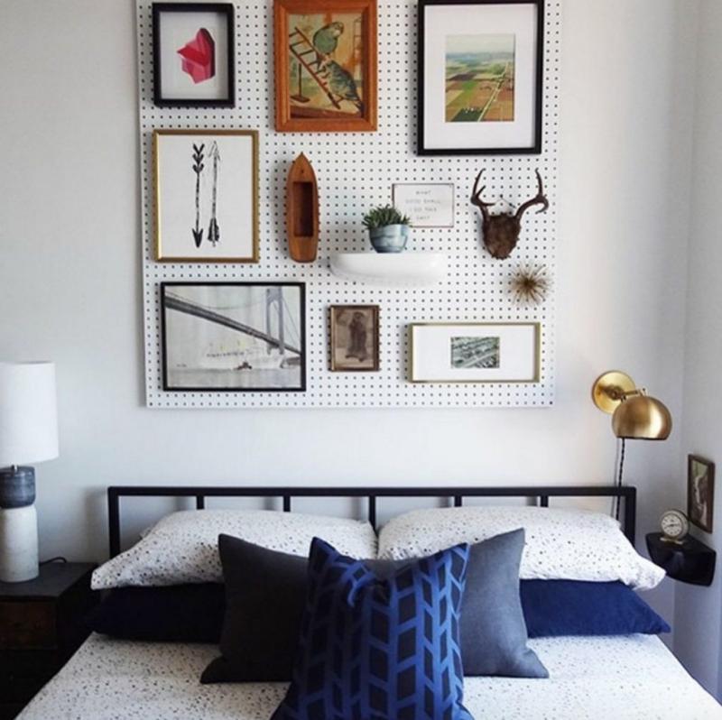 how to hang a diy headboard
