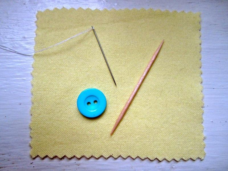 how to sew a clip button