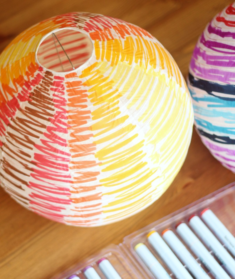 diy paper lantern balloon