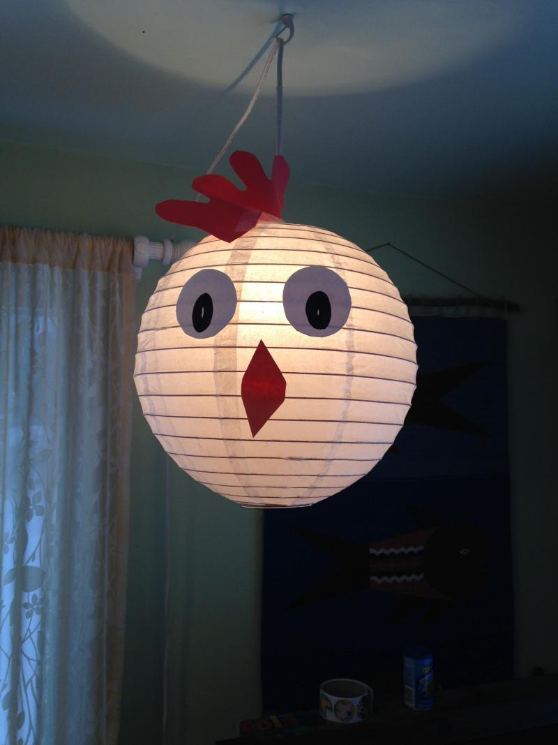 diy paper lantern easy