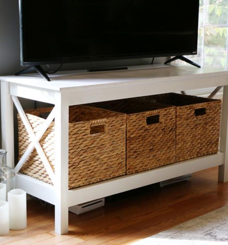 diy tv stand with mount