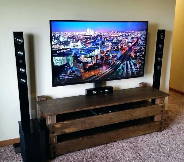 diy adjustable tv stand