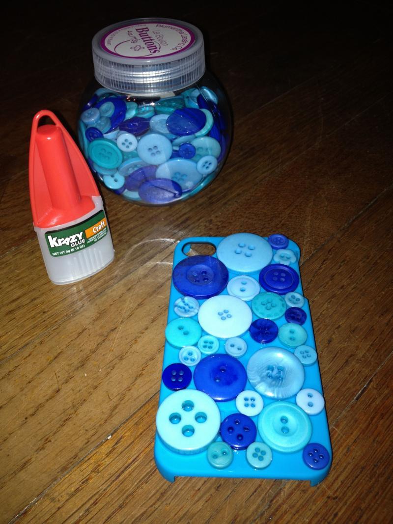 diy phone case bling