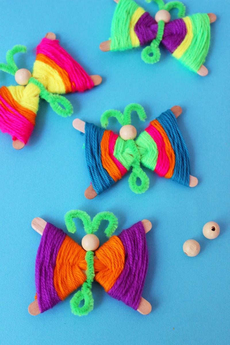 butterfly crafts kindergarten