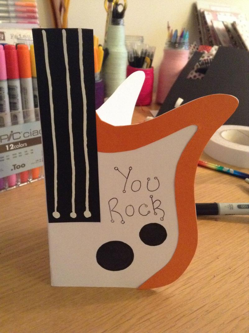 diy toddler thank you cards