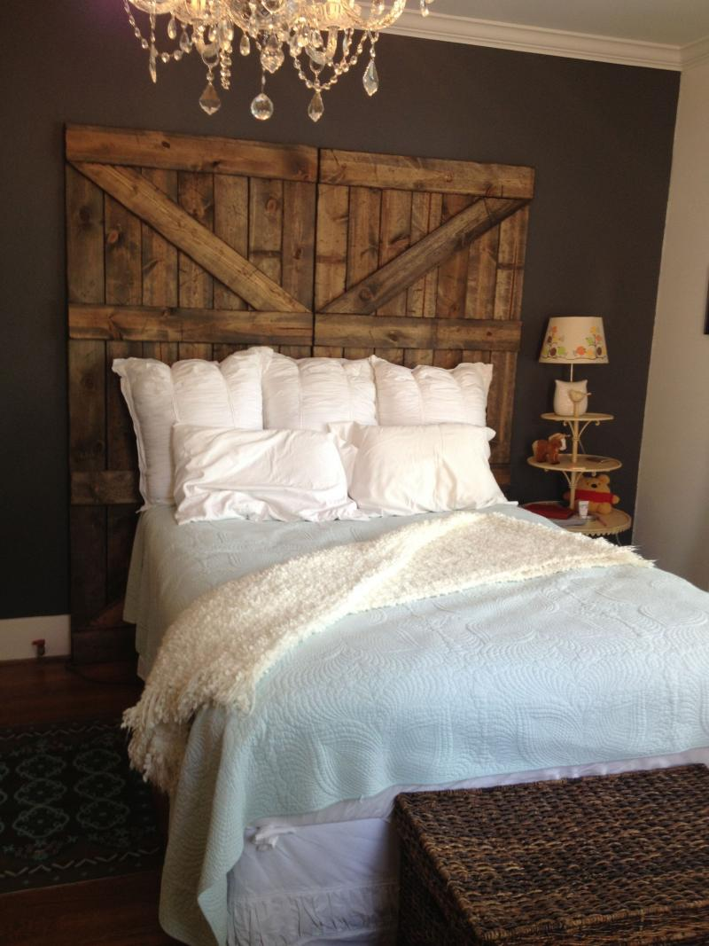 diy wood headboard easy