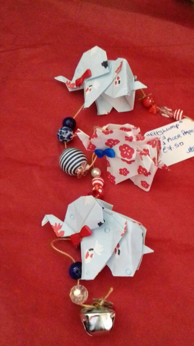 elephant origami video