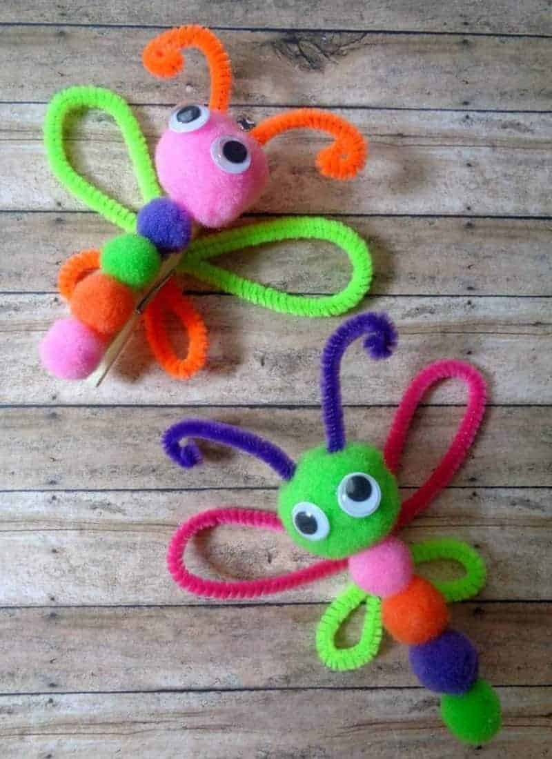 butterfly crafts for children