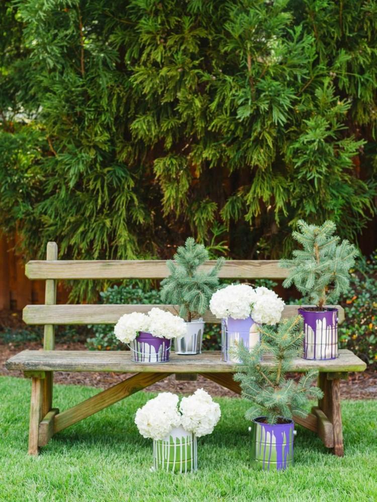 diy flower pot garden