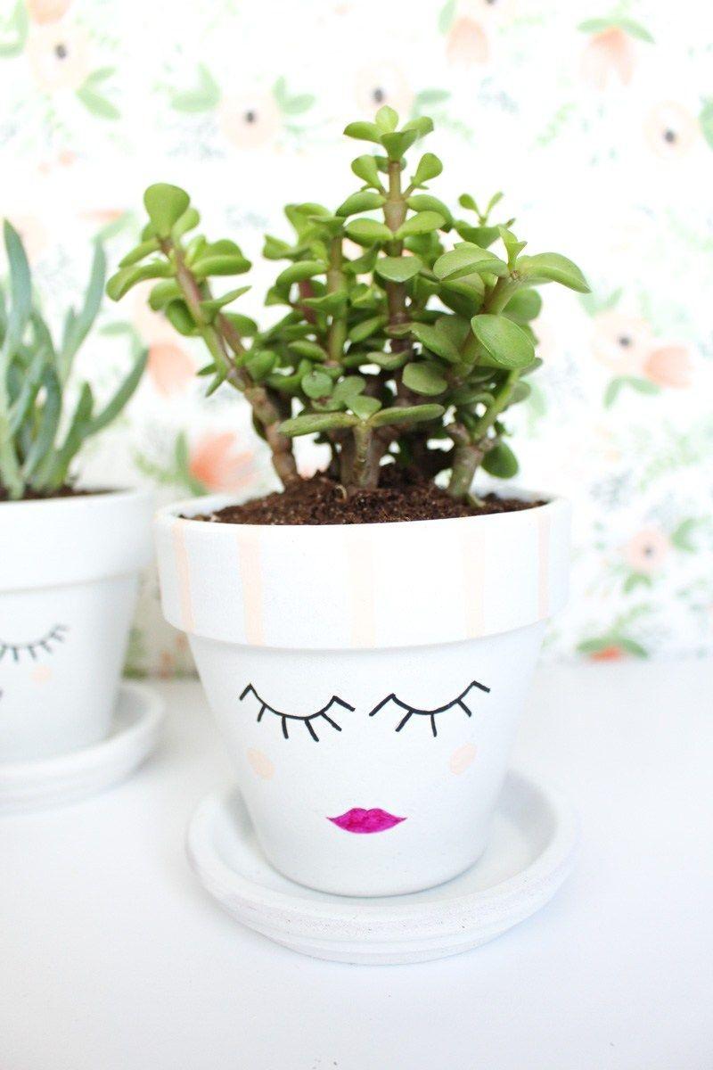diy flower pot bbq