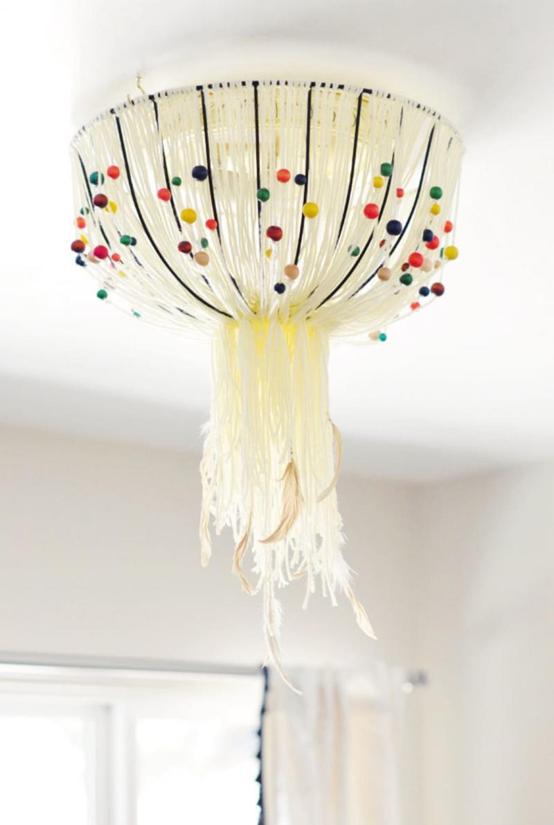 diy pendant light cord