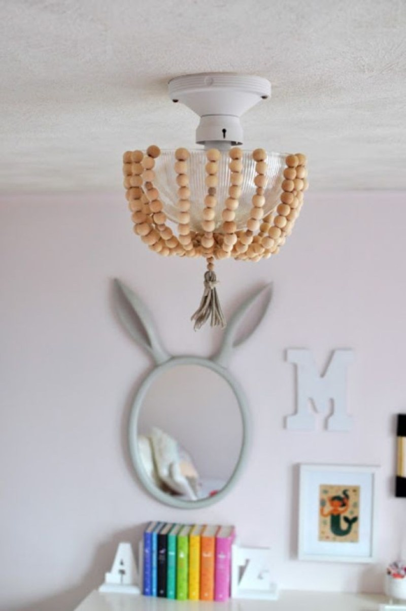 diy drum pendant light