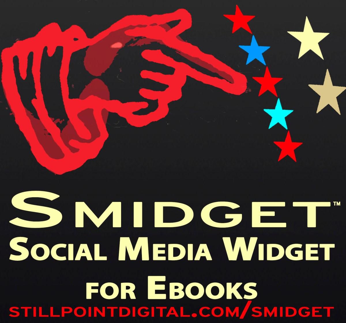 Smidget — the social media widget for ebooks