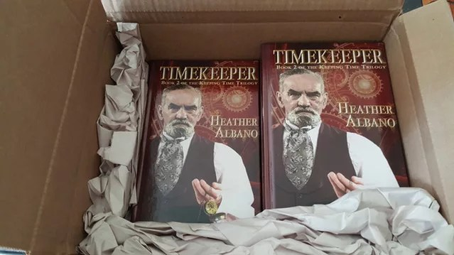 Timekeeper is on its way!