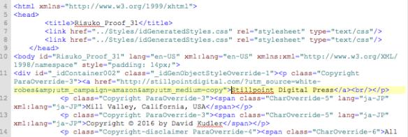Speaking in Code - HTML Basics