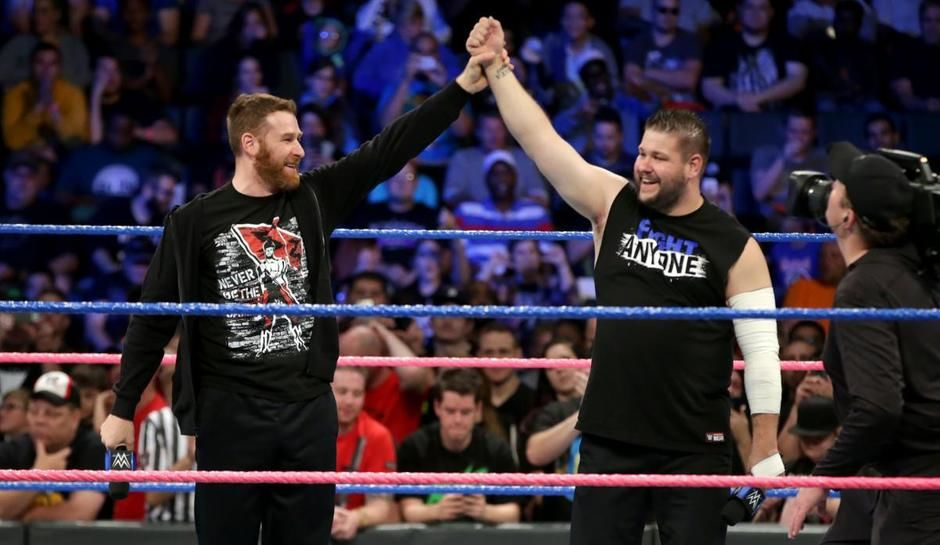 Image result for kevin owens and sami zayn