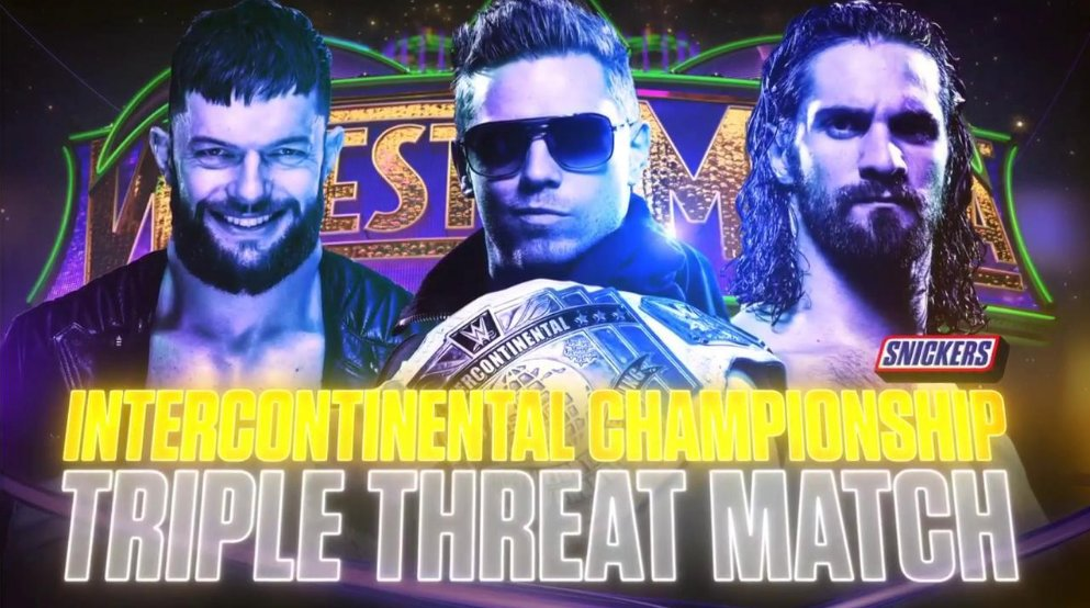 Image result for Wrestlemania 34 Intercontinental Championship