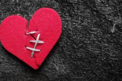 Schmerz im Herz