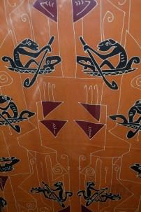 Motif batik Asmat.