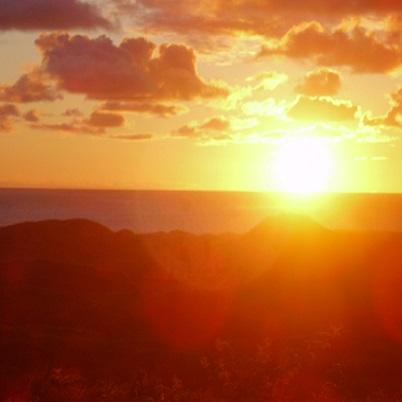 Sun Setting In Heaven