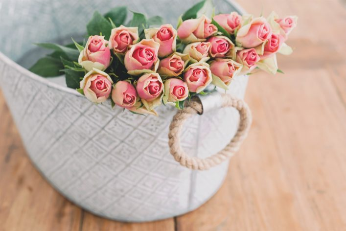 "Flowers are a timeless way to say, ""you're not alone, and I support you."""
