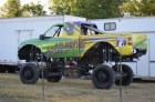 Only at a Fair can you have cow dung in one moment and oil leaks in the next. The monster truck show is a favorite for many in the area.