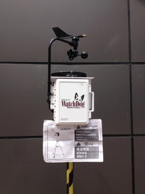 E. Nanjing Watchdog Weather Station. These are new and can be found on Pedestrian Street, E. Nanjing Rd. Interesting