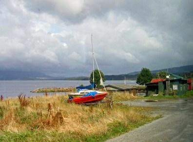 A Sailboat Waiting