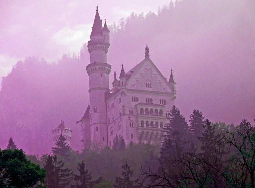 The Sleeping Beauty Castle of Neuschwanstein in Germany