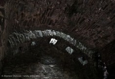 Murder Holes in Llansteffan Castle