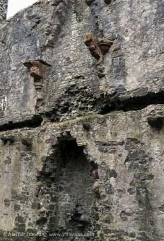 Llansteffan Castle Fireplace