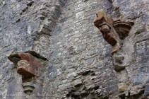 Llansteffan Castle Fireplace
