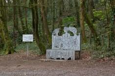 Llansteffan sculpture seat