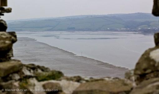 River Towy inlet fro Llansteffan Castle