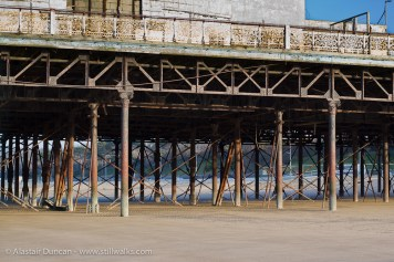 Colwyn Bay Pier under-structure