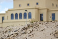 sand dune and Great Hall