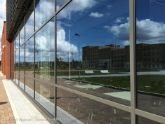 campus reflection