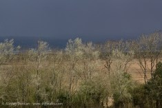 Dark clouds and sunlight