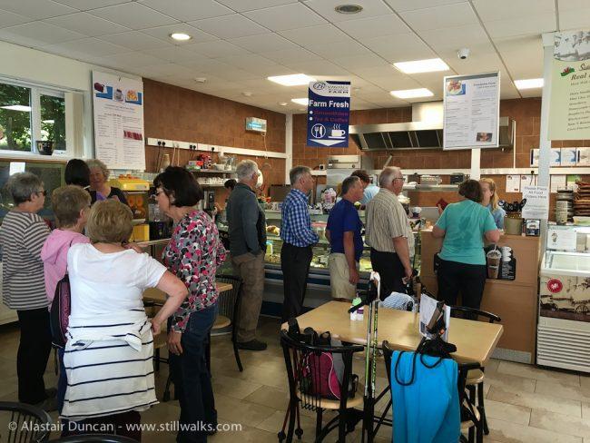 Nicholaston Farm cafe