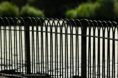 park railings