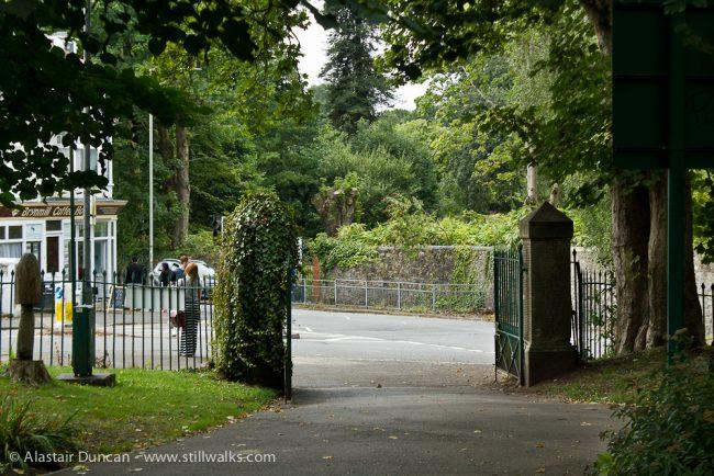 park entrance/exit